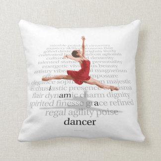 I Am A Dancer Throw Pillows