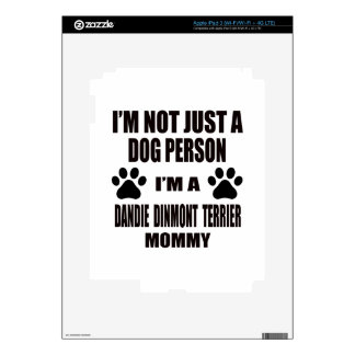 I am a Dandie Dinmont Terrier Mommy Decal For iPad 3