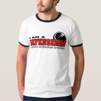 I am a Defenseman Tshirts