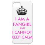 I am a fangirl and i cannot keep calm iphone case iPhone 5 case