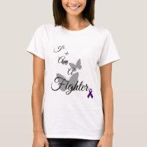 I Am A Fighter Fibromyalgia TShirt