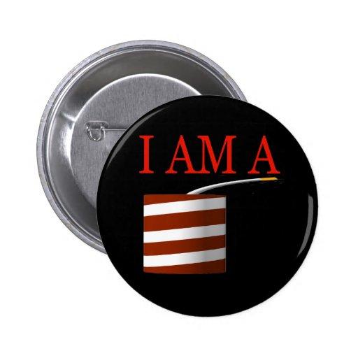 I Am A Firecracker 2 Inch Round Button