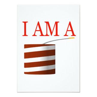 I Am A Firecracker Card