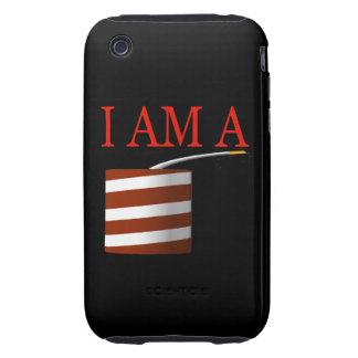 I Am A Firecracker Tough iPhone 3 Case