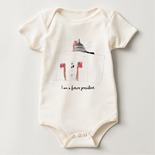 I am a future president. bodysuit