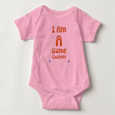 Professional Business I Am A Game Changer for Baby Girls Baby Bodysuit
