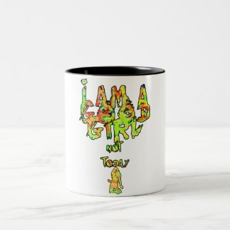 I am a good girl but not today - for coffee mug