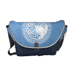 I am a Hawk: Snow Messenger Bag