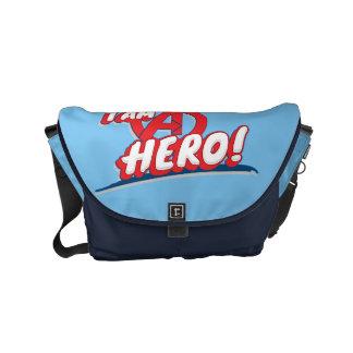 I Am A Hero! Small Messenger Bag