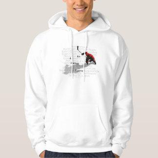 I am a Hockey Player Hooded Sweatshirt