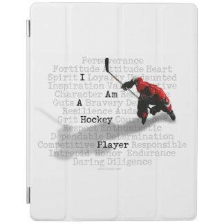I am a Hockey Player iPad Cover