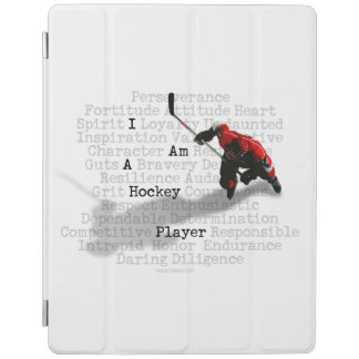 I am a Hockey Player iPad Cover