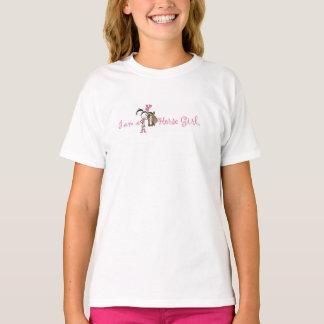 """""""I am a Horse"""" Girl T-Shirt"""