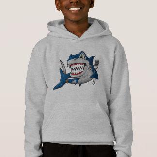 I Am A Hungry Shark Hoodie