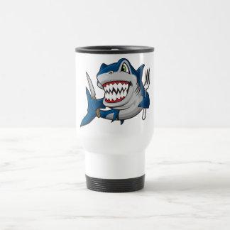 I Am A Hungry Shark Mug
