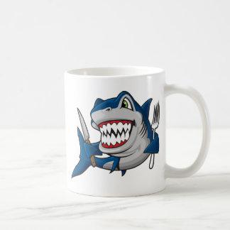 I Am A Hungry Shark Coffee Mugs