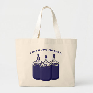 I Am A Jug Hugger Jumbo Tote Bag
