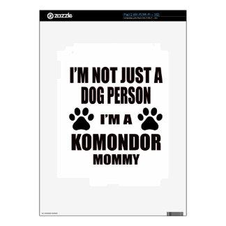 I am a Komondor Mommy Skin For iPad 2