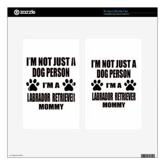 I am a Labrador Retriever Mommy Skin For Kindle Fire