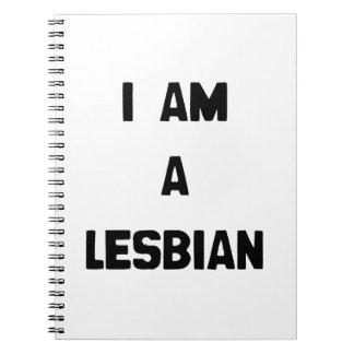 I AM A LESBIAN NOTE BOOK
