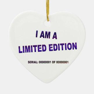 I Am A Limited Edition Ceramic Ornament