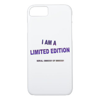I Am A Limited Edition iPhone 7 Case