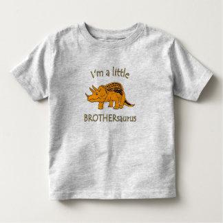 I am a little brothersaurus toddler t-shirt