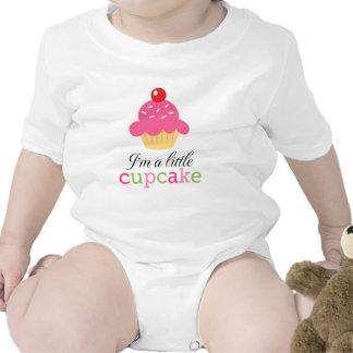 I am a little cupcake cute cartoon baby bodysuit