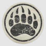 I am a MAMA GRIZZLY Round Stickers