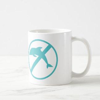I am a marine biologist and kinda hate dolphins classic white coffee mug