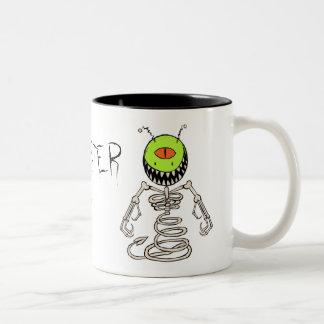 I am a MONSTER Two-Tone Coffee Mug