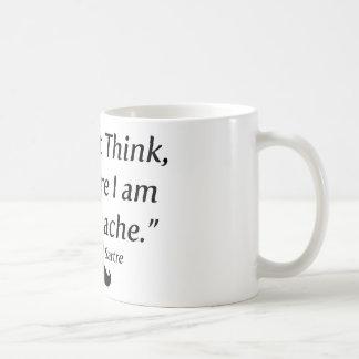 I Am A Moustache Coffee Mug
