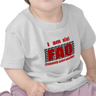 I Am A n FAQ Frequently Asked Question T-shirt
