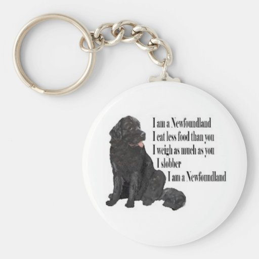 I am a Newfoundland Key Chain