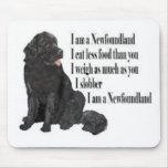 I am a Newfoundland Mouse Pad
