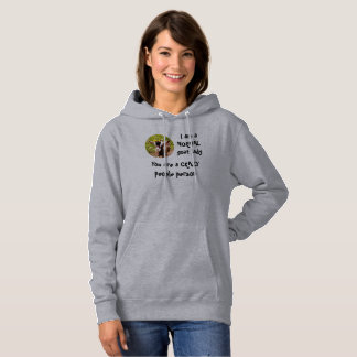 I am a NORMAL goat lady Hoodie