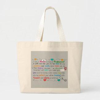 I Am A Nurse Tote Bag
