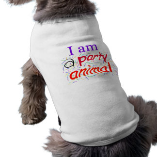 I-am-a-Party-Animal Doggie T Shirt