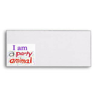 I-am-a-Party-Animal Envelopes