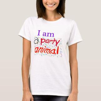 I am a Party Animal Spaghetti Straps Women T-Shirt
