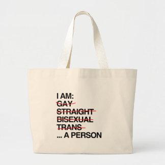 I AM A PERSON BAG