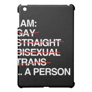 I AM A PERSON iPad MINI COVERS