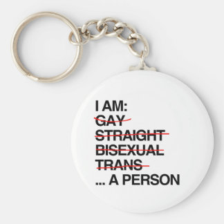 I AM A PERSON KEY CHAIN