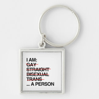 I AM A PERSON KEYCHAIN