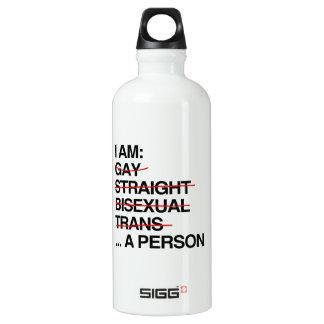 I AM A PERSON SIGG TRAVELER 0.6L WATER BOTTLE