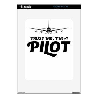 I am a Pilot Decals For iPad