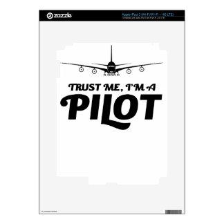 I am a Pilot iPad 3 Skins