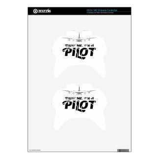 I am a Pilot Xbox 360 Controller Decal