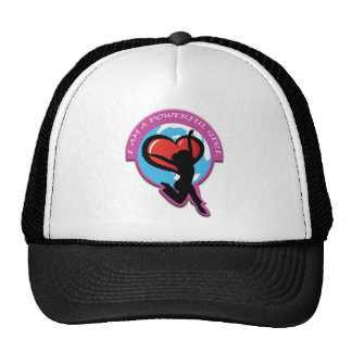 I Am A Powerful Girl Products Hats
