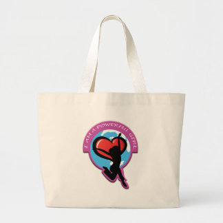 I Am A Powerful Girl Products Large Tote Bag